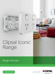New Clipsal Iconic Switches Matt Pearson Electrical